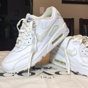 Air Max 90 LTR GS 'White' Size 7Y